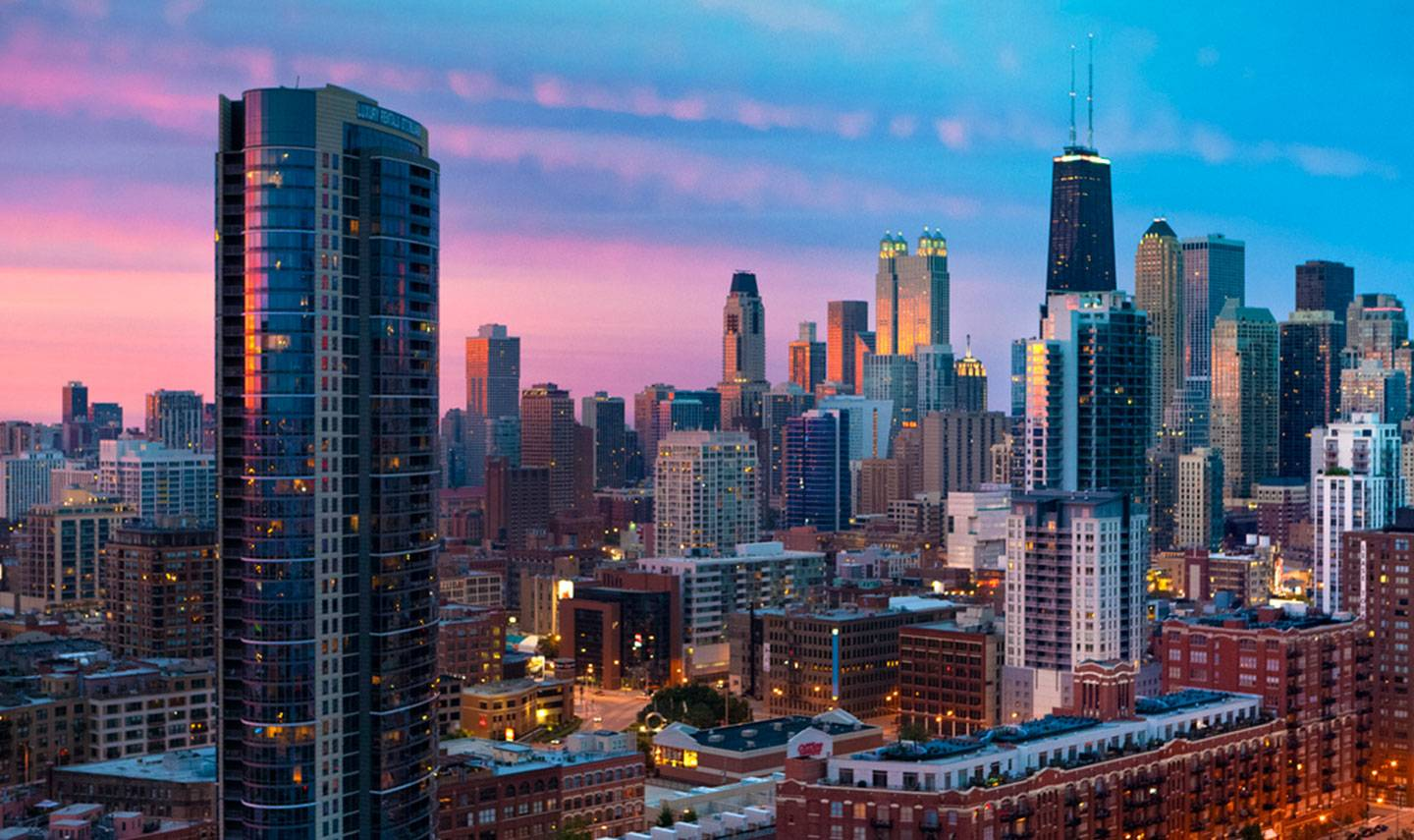 20170210a The History of the River North District in Chicago