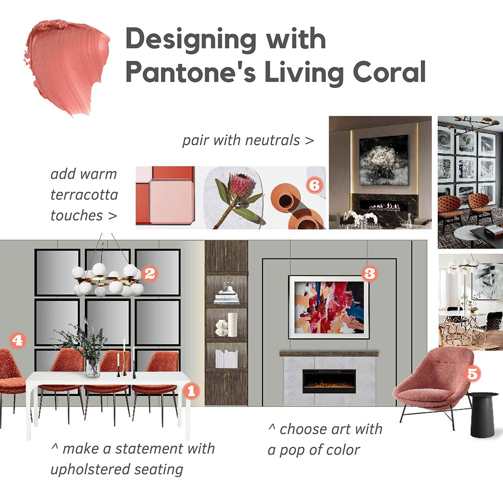 20190124b-1 Pantone's Living Coral adds a splash of warmth to home decor